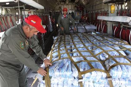 Venezuelan aid plane prepares to leave for Haiti (Prensa MPPRE)