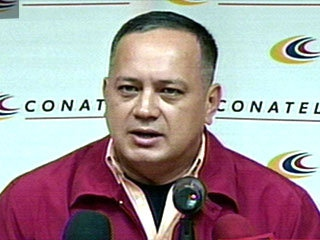 Public Works and Infrastructure Minister Diosdado Cabello (YVKE)