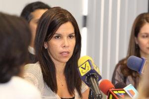 Venezuela's Human Rights Ombudsperson Gabriela Ramirez (archive)