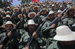 The new Peasant Militia in Venezuela (AP)