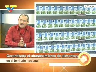 Carlos Osorio on Venezuelan state television (VTV)