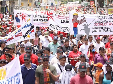 May day in Caracas this year (ABN)