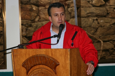 Minister for Justice and the Interior Tarek El-Aissami (MIJ)