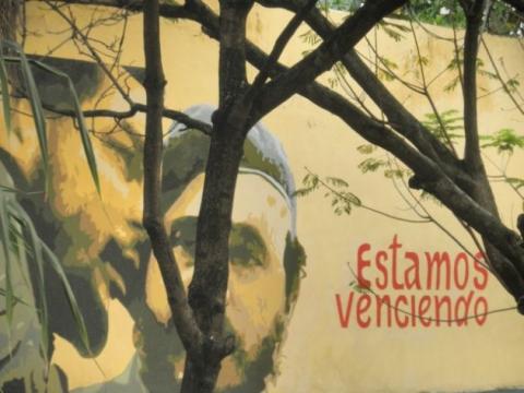 Graffiti - Che and Castro 'We are winning'