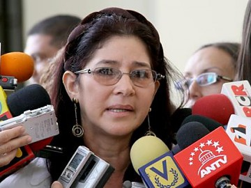 Cilia Flores, president of the National Assembly (archive)