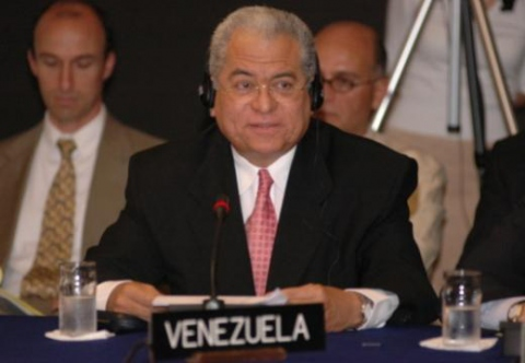 Jorge Valero at the UN summit (VTV).