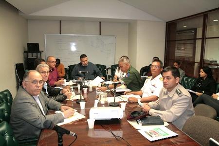 National Assembly legislators and military officials meet (NA website)