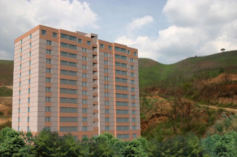 Completed housing developments such as the El Encantado project had been empty for three years before government interventions on October 31, 2010 (Agencies)