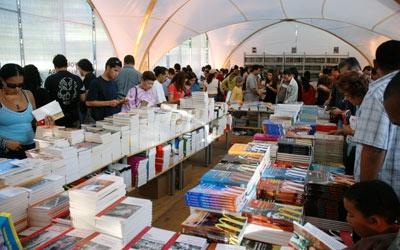 Venezuela's 6th International Book Fair (Filven) held at Parque del Este in Caracas this week (Agencies)