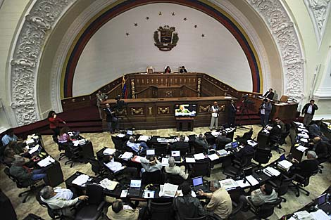 Venezuela's National Assembly in December passed the Ley Habilitante, or Enabling Law, granting the President the authority to decree laws for the benefit of torrential rain victims (Agencies)