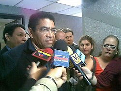 Marcos Hernández, representative of Journalists for the Truth (Aporrea)