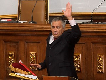 New National Assembly president, Fernando Soto Rojas (archive)