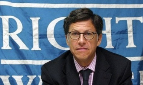 Human Rights Watch Americas Director José Miguel Vivanco was expelled from Venezuela in 2008 for violating the conditions of his tourist visa because he engaged in political activity in the country. (YVKE)
