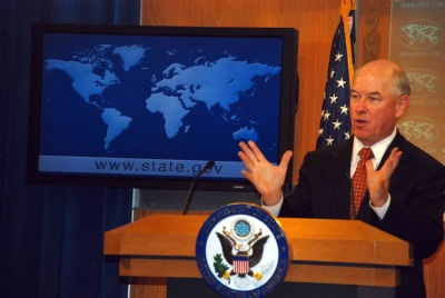 U.S. State Department Spokesman Phil Crowley recently made contradictory statements to the press with respect to the Obama administration's nomination of Larry Palmer as ambassador to Venezuela (Agencies)
