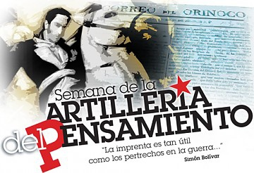 La Artillería del Pensamiento [Artillery of Thought] is a Sunday supplement of the state-run Correo del Orinoco newspaper (CdO).