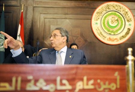 Arab League Secretary-General Amr Moussa (Archive).
