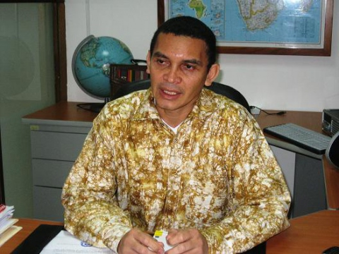 Reinaldo Jose Bolivar, Venezuelan Vice-Minister of Foreign Affairs for Africa (ENcontrARTE).