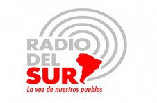 Caracas-based Radio del Sur, founded in 2009, is modeled after the Latin-American television channel TeleSUR (Logo).