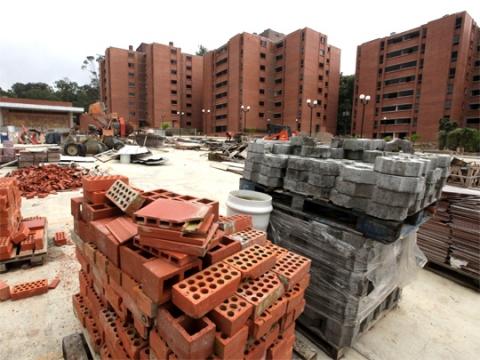 Housing construction in Venezuela (archive)