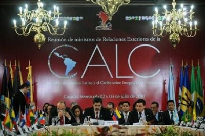 Earlier this year, representatives from the nations that are to make up the Community of Latin American and Caribbean States (CELAC) met in Caracas to plan the now suspended 5-6 July founding summit (Photo: Archive).
