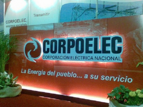 The Venezuelan government maintains a national state-run electricity company, Corpoelec (Photo: Archive).
