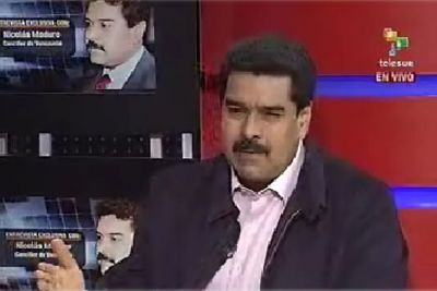 Foreign Minister Nicolas Maduro confirmed that President Chávez was continuing with his presidential duties from Havana during an interview with the Latin American news channel TeleSur (TeleSur).