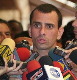 Henrique Capriles Radonski (archive)