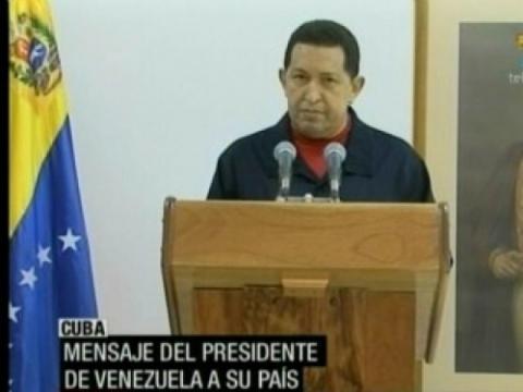 Venezuelan President Hugo Chavez on national television 30 June 2011 (Photo: Agencies).