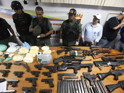 Venezuelan prosecutors have charged two former prison governors and a soldier with corruption and facilitating the trafficking of arms and drugs and associating with criminals in El Rodeo jail (Agencies).