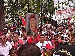 "The popular movement stated that a ""political revolution"" must be created at the heart of the Bolivarian process (Aporrea)"