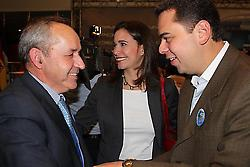 """Dionisio García Carnero, member of the Spanish rightwing """"Popular Party"""", meeting with members of the Venezuelan opposition earlier this year (Aporrea)"""
