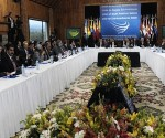 Economic ministers of UNASUR's member states meet in order to discuss strategy for dealing with external economic crises (Cubadebate)