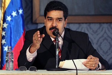 Venezuelan Foreign Affairs Minister, Nicolas Maduro, presents Venezuela's national human rights report at the United Nations Universal Periodic Review (Archive)