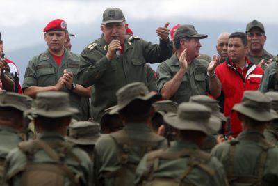 "Venezuela's Chavez lamented the ""assassination"" of Gaddafi (EFE)"