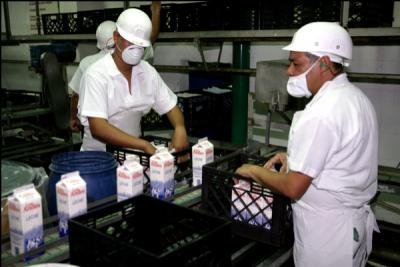 Liquid milk factory Enlandes was nationalised in 2008