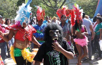 Carnaval in El Pinar Zoo, Caracas (Ciudad CCS)