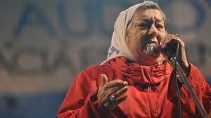 Argentinean activist, Hebe de Bonafini (Larazon.com.ar)