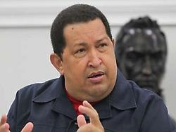 Venezuelan President Hugo Chavez announced the measure on Saturday (VTV).