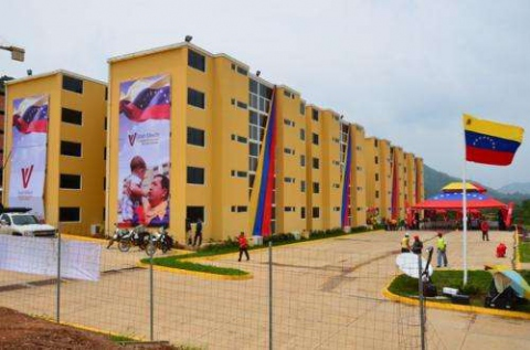 Venezuela's Great Housing Mission (GMVV) aims to construct 3 million new homes by 2019 (archive).
