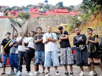 Members of Venezuela's Hip Hip Revolution collective (Latin America Bureau)