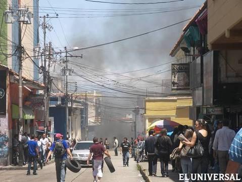 Disturbances in Merida as a result of the conflict (EL Universal)
