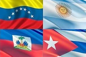 Venezuela, Argentina and Cuba signed agreements to support Haiti's development last Wednesday (PrensaLatina).