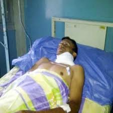 Raul Canizales, 34, was shot in the neck during the altercation (CdO)