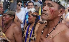 80Yanomami indigenous peoples were allegedly killed in the attack (Venevision)