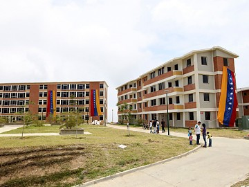 Venezuela's Great Housing Mission (GMVV) has constructed 243,990 new houses since the program's launch in April 2011 (archive).