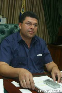Hugo Cabezas, who renounced his candidacy for Trujillo state governor on Sunday (El Universal)