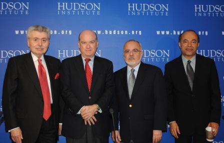 Pedro Burelli, second from left (Hudson Institute)