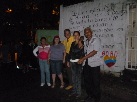 Voters queuing in Caricuao in the early hours of the morning (Manuel Graft)