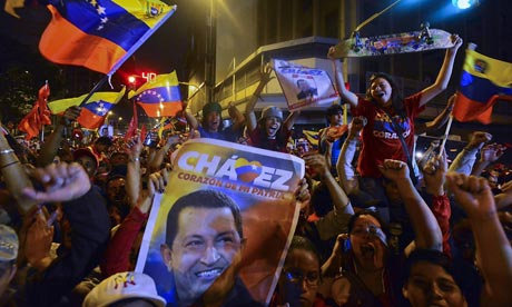 'There is no more authentic a representative of Venezuela's character than Hugo Chavez (Luis Acosta/AFP/Getty Images)