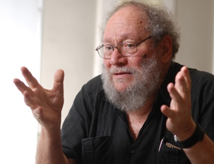 Michael Lebowitz in Zagreb. (Jovica Drobnja)